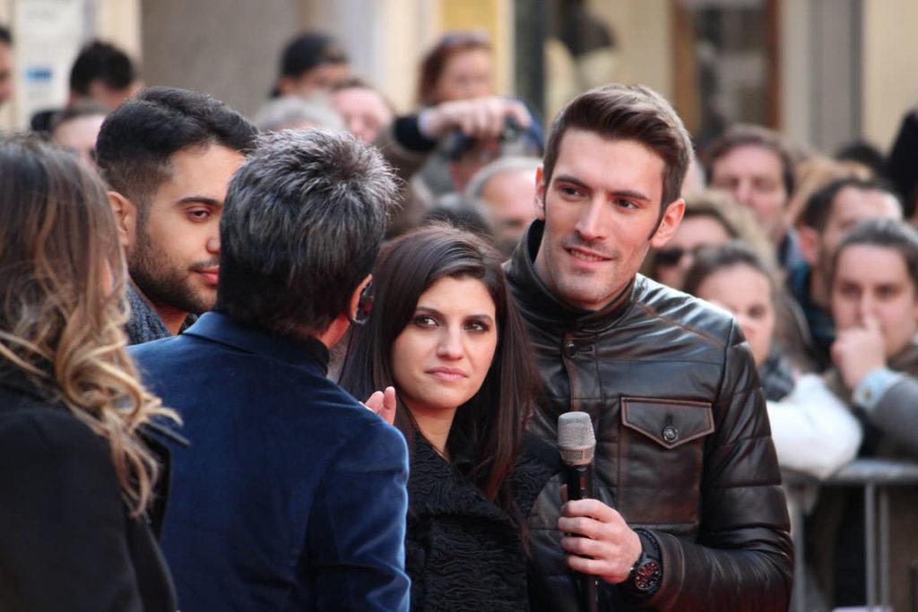 Intervista artisti festival di Sanremo