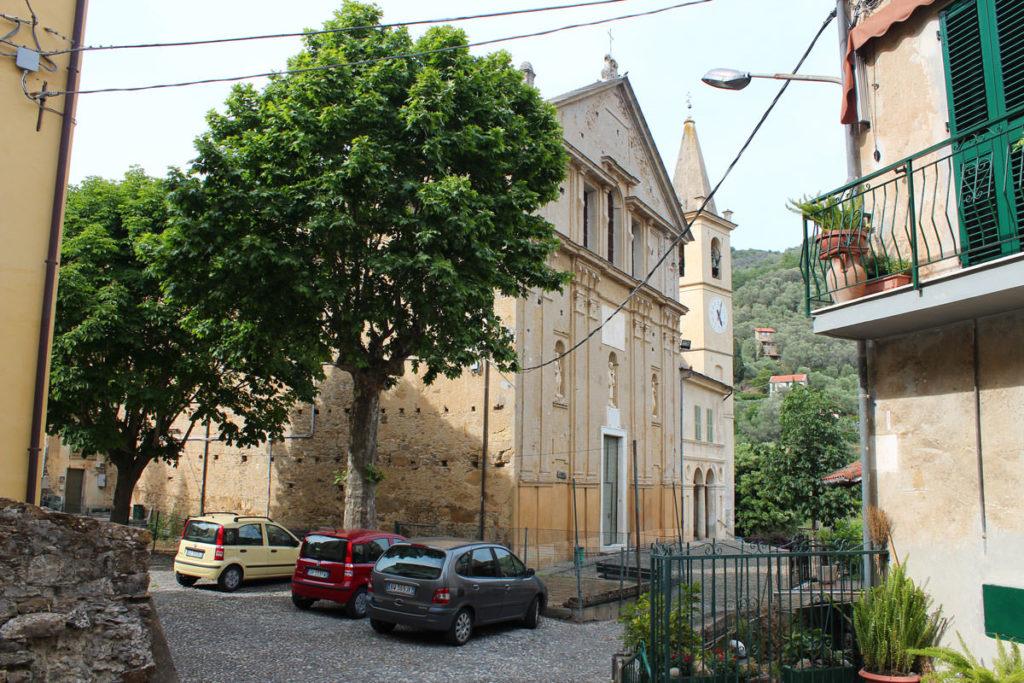 La chiesa di San Bernardo di Moltedo