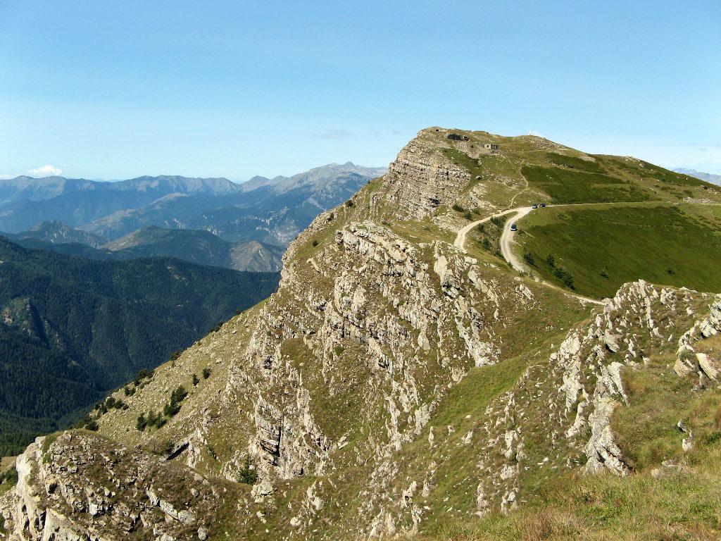 Monte Saccarello nel parco delle alpi liguri