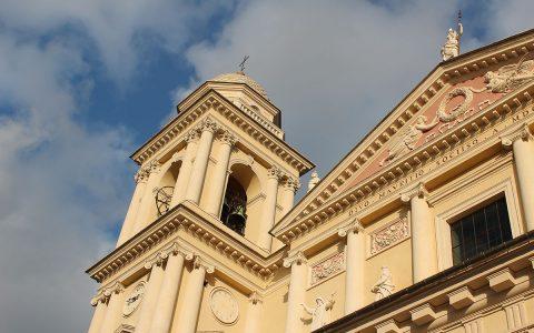Dettaglio del Duomo di San Maurizio