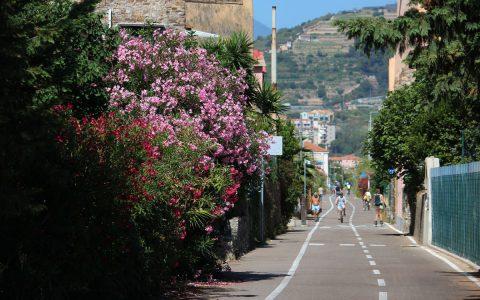 Pista ciclabile Sanremo