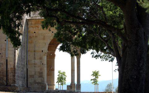 Il portico del Santuario