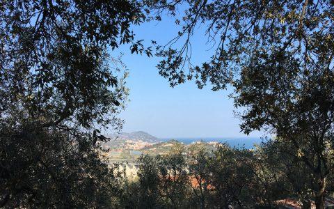 Panorama sul mare