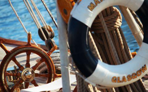 Dettaglio barca